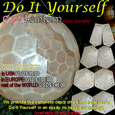 LanternUS Capiz Lantern